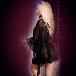 STRAP-ON OCO OUCH! HOLLOW SURGE PRETO